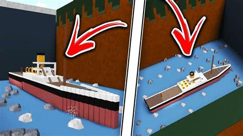 titanic boat design titanic boat tour insane build a boat for treasure