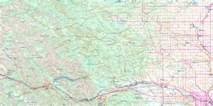 topo maps canada free calgary topo map free nts 082o ab