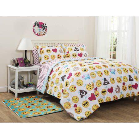 emoji pals bed in a bag bedding set walmart.com