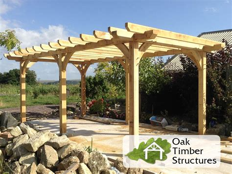 images of pergola solid oak pergolas oak timber structures