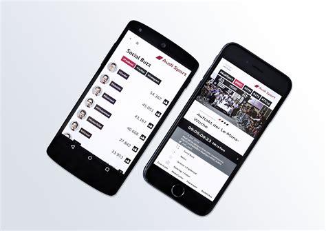 Audi Ios App by Audi Sport With New Smartphone App Audiworld