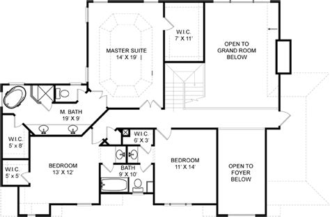 westlake floor plan westlake 5962 4 bedrooms and 3 5 baths the house designers