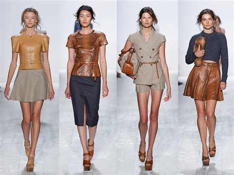 chicos spring collection 2014 michael kors spring 2014 collection captivates the youth