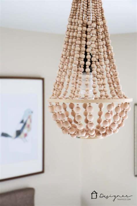 wood bead chandelier pottery barn best 25 wood bead chandelier ideas on bead