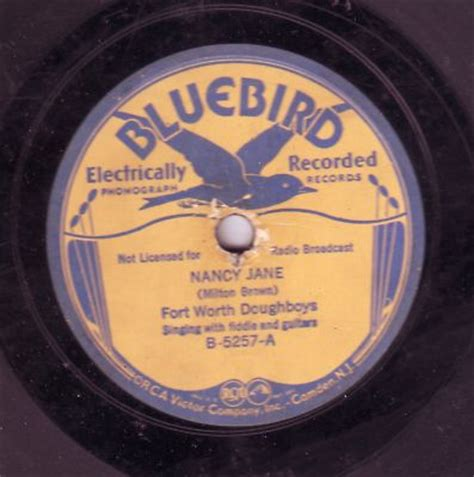 Fort Worth Records Popsike Fort Worth Doughboys 78 Rpm Record Bluebird Auction Details