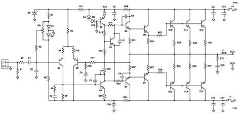 c5200 transistor lifier circuit diagram 28 images 100w