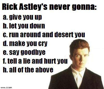 Rick Rolled Meme - understanding the internet meme back seat gaming