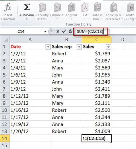tutorial excel 2010 formulas using formulas tutorial webucator