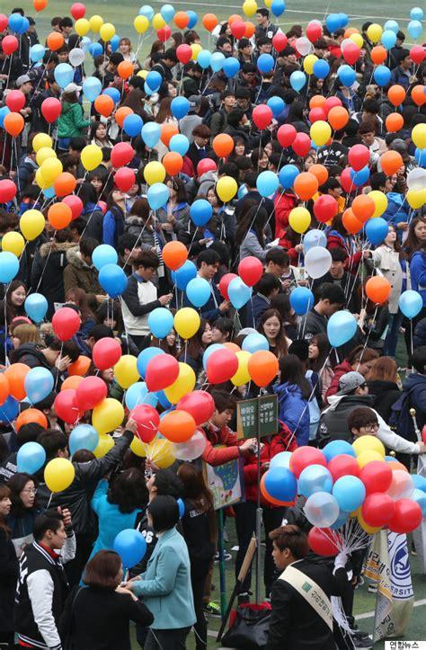 silla university south korea south korea s school entrance ceremonies show an unusual