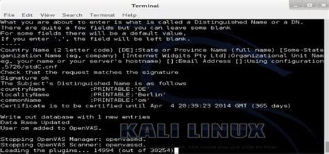 golismero kali linux tutorial tutorial openvas setup para kali linux