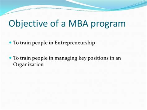 Of Mba Program by Icfai Mba Program