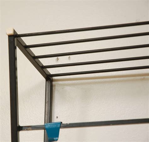 Hat Shelf by Coen De Vries Wall Mount Coat Rack With Hat Shelf At 1stdibs