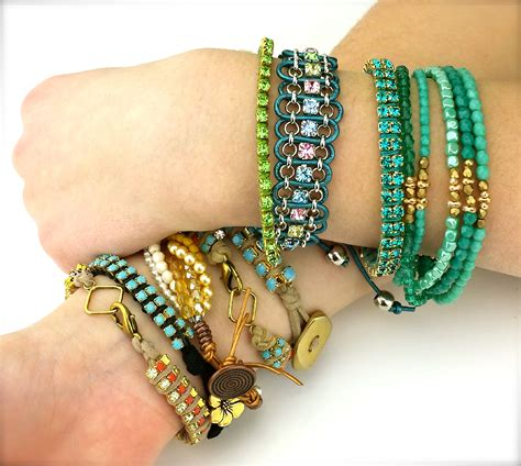 best jewelry blogs top jewelry trends for 2014 rhinestone chain bracelets