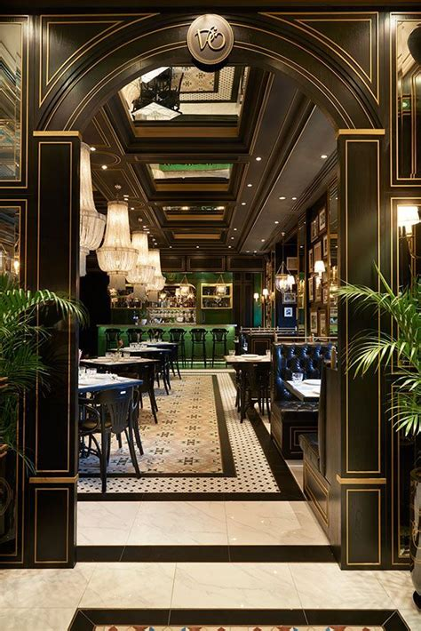 interior designs inspired  luxury restaurants