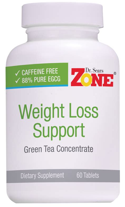 Suplemen Zone Dr Sears Zone Weight Loss Support Green Tea Extract