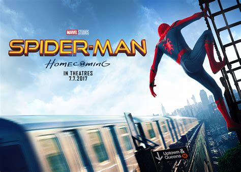 spider man homecoming posters  art screen rant