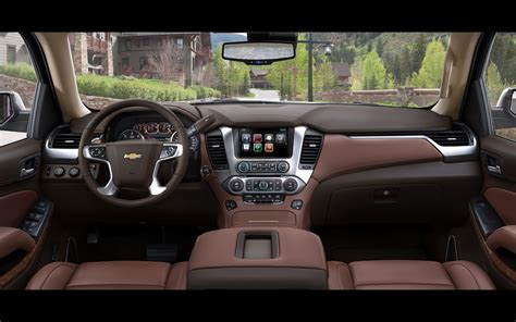 Chevy Suburban 2015 Interior by 2015 Chevrolet Tahoe And Suburban Chevrolet Suburban