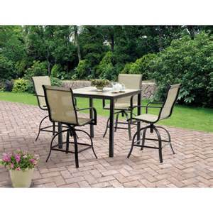 5 patio dining sets patio dining set outdoor furniture swivel chair 5