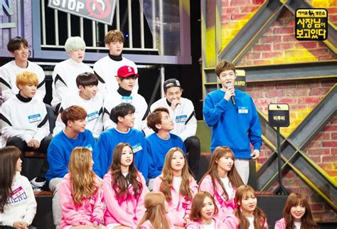 bts in variety show picture bts at sbs lunar new year special program idol