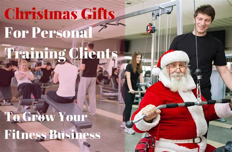 christmas gifts for personal training clients to grow your