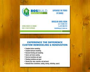 construction company business card bosbuild construction business card chicago printing and