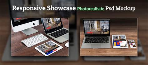 responsive design mockup tools responsive showcase photorealistic psd mockup creativecrunk