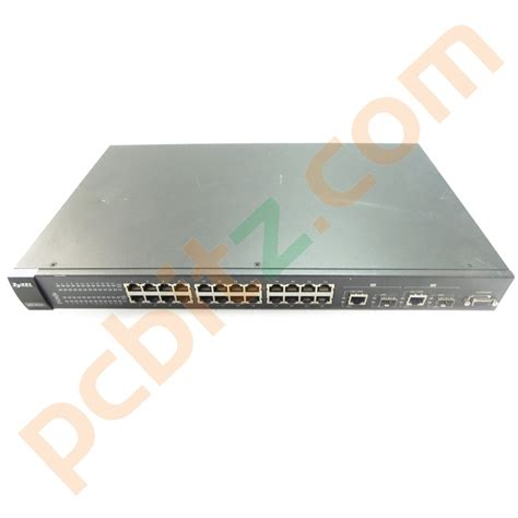 24 managed switch zyxel es 2024pwr 24 10 100 poe managed switch