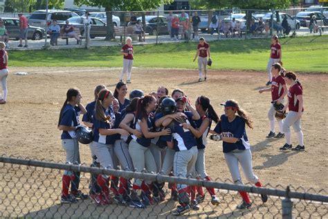 school softball team rhs girls softball team takes dramatic win in last ever