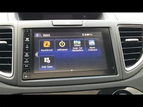 android apps on your hondalink radio display. connect
