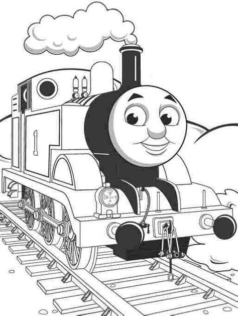 Thomas The Tank Engine Coloring Pages Getcoloringpages Com The Tank Engine Colouring Pictures To Print