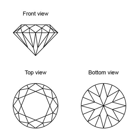 diamond pattern vector ai create a vector diamond using 3d software and illustrator