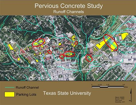 texas state university map of cus maps while in college on behance