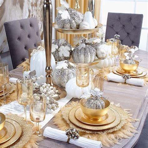 decorar mesa navidad para cena decoraci 243 n de mesas para la cena de navidad en color dorado