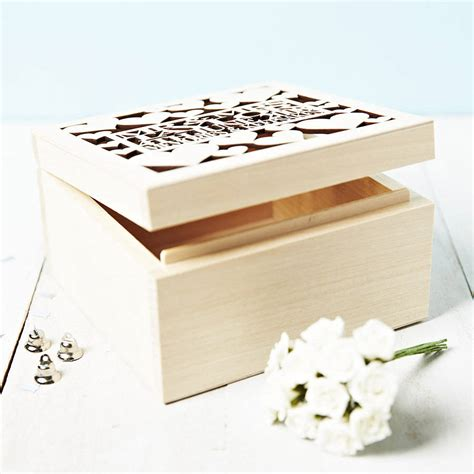 Wedding Gift Keepsake Box by Personalised Wedding Gift Keepsake Box By
