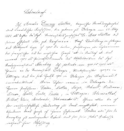 Lebenslauf Muster Handgeschrieben 1907 Handschriftlicher Lebenslauf Zur Promotion M 252 Ndliche Pr 252 Fung Am 13 Dezember 1907