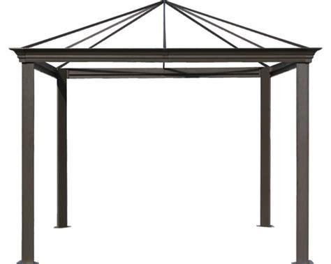 alu pavillon 4x4 gartenpavillongestell figaro 3 x 3 m braun jetzt kaufen
