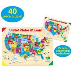 usa map puzzle your child learns 1000 images about preschool years ages 3 6 on