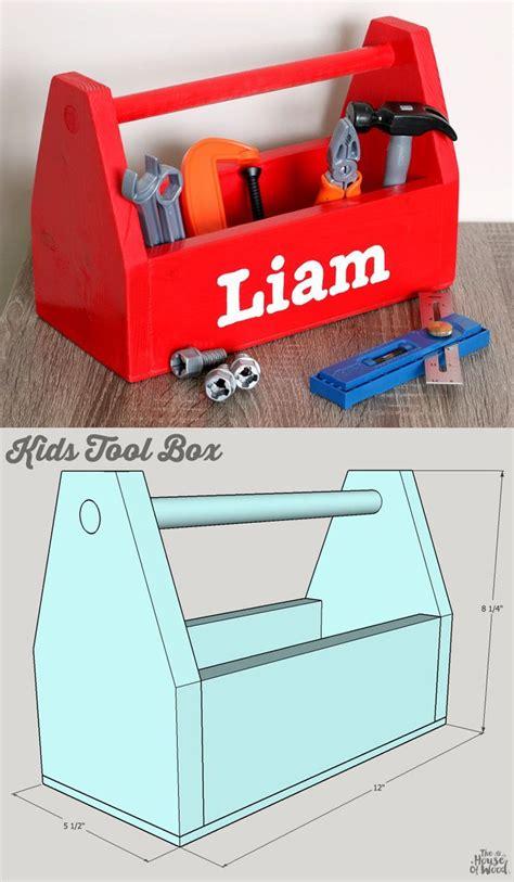 diy kids tool box kids tool box woodworking  kids