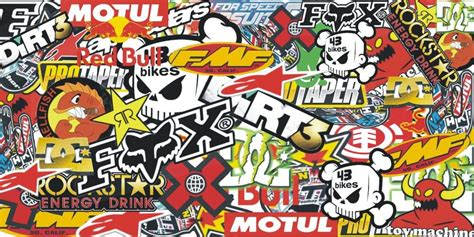 Wallpaper Sticker 011 stickers bomber