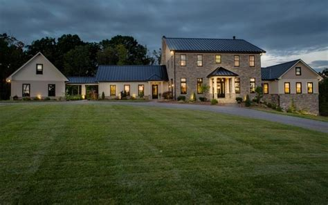estate like modern farmhouse in texas idesignarch 3 9 million newly built contemporary farmhouse style