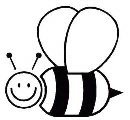 honey bee template bumble bee outline clipart best
