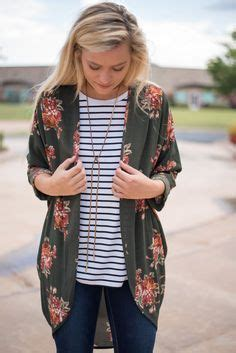 Printed Cuffed Cropped 1000 ideas about striped cardigan on