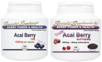 acai berry supreme acai berry supreme alternative health products