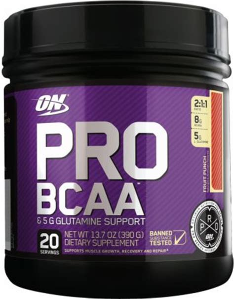 8g supplement review pro bcaa by optimum nutrition at bodybuilding best