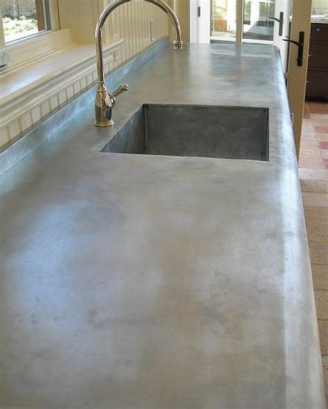 countertops made using zinc is this going to the