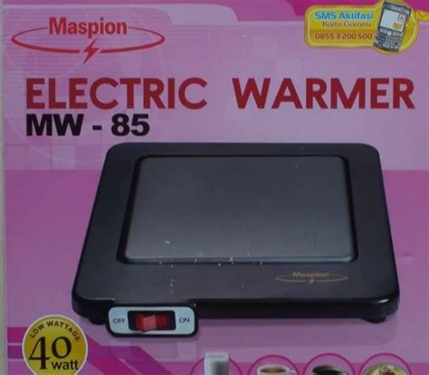 Maspion Electric Warmer Jual Maspion Electric Warmer Mw 85 23mart