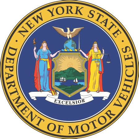 state department of motor vehicles new york state department of motor vehicle logo vector