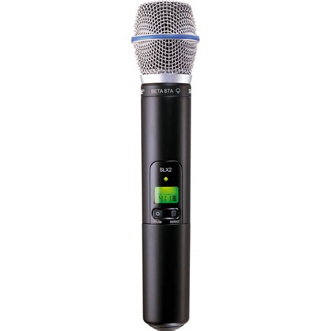 Microphone Wireless Shure Uhf 555 Wireless Microphone 2 Clip On shure slx2 handheld wireless uhf transmitter slx2 beta87a h19