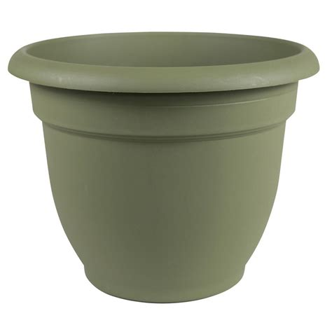 Living Green Planters by Bloem 20 In Living Green Plastic Self Watering