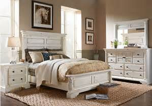 White King Bedroom Furniture Set by Claymore Park Off White 5 Pc King Panel Bedroom Bedroom